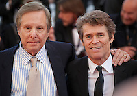 Director William Friedkin and actor Willem Dafoe at the gala screening for the film Graduation (Bacalaureat) at the 69th Cannes Film Festival, Thursday 19th May 2016, Cannes, France. Photography: Doreen Kennedy