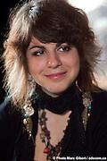 Portrait de la chanteuse Lisa LeBlanc, durant l'émission de Francophonie Express réalisée en direct par Louis Moubarak. Photo Marc Gibert / adecom.ca -  La Quincaillerie / Montreal / Canada / 2011-04-05, Marc Gibert/ adecom.ca