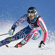 Will Gregorak, USA, in action during the Men's Giant Slalom competition at Coronet Peak, New Zealand during the Winter Games. Queenstown, New Zealand, 22nd August 2011. Photo Tim Clayton
