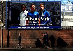 Everton fans arrive at Goodison Park - Mandatory by-line: Robbie Stephenson/JMP - 05/11/2017 - FOOTBALL - Goodison Park - Liverpool, England - Everton v Watford - Premier League