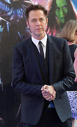Image ©Licensed to i-Images Picture Agency. 24/07/2014. London, United Kingdom. <br /> <br /> Pictured is Guardians of the Galaxy Director James Gunn.<br /> <br /> Guardian's of the Galaxy film premiere at Leicester Square, London, UK.<br /> <br /> Picture by Ben Stevens / i-Images