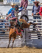 Mini Saddle Bronc Riding