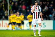 Onderwerp/Subject: Willem II - Eredivisie<br /> Reklame:  <br /> Club/Team/Country: <br /> Seizoen/Season: 2012/2013<br /> FOTO/PHOTO: Marc HOCHER (FRONT) of Willem II dejected at background players of VVV Venlo celebrating. (Photo by PICS UNITED)<br /> <br /> Trefwoorden/Keywords: <br /> #03 $94 ±1342772867474<br /> Photo- & Copyrights © PICS UNITED <br /> P.O. Box 7164 - 5605 BE  EINDHOVEN (THE NETHERLANDS) <br /> Phone +31 (0)40 296 28 00 <br /> Fax +31 (0) 40 248 47 43 <br /> http://www.pics-united.com <br /> e-mail : sales@pics-united.com (If you would like to raise any issues regarding any aspects of products / service of PICS UNITED) or <br /> e-mail : sales@pics-united.com   <br /> <br /> ATTENTIE: <br /> Publicatie ook bij aanbieding door derden is slechts toegestaan na verkregen toestemming van Pics United. <br /> VOLLEDIGE NAAMSVERMELDING IS VERPLICHT! (© PICS UNITED/Naam Fotograaf, zie veld 4 van de bestandsinfo 'credits') <br /> ATTENTION:  <br /> © Pics United. Reproduction/publication of this photo by any parties is only permitted after authorisation is sought and obtained from  PICS UNITED- THE NETHERLANDS