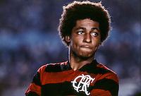 Geraldo Assoviador -  19.05.1975 - Flamengo - Championnat du Bresil-<br /> Photo : PPG / Icon Sport