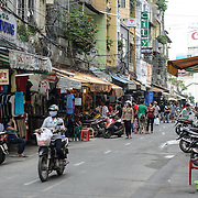 Street markets in the Cho Lon in Ho Chi Minh City (Saigon), Vietnam.