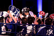People during the ceremony marking the 3 years to go to the Tokyo 2020 Olympics Games on July 24, 2017 at the Tokyo Metropolitan Government Building, Tokyo, Japan. 24/07/2017-Tokyo, JAPAN