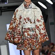 Designer Jessica Cooke at the Best of Graduate Fashion Week showcases at the Graduate Fashion Week 2018, June 6 2018 at Truman Brewery, London, UK.