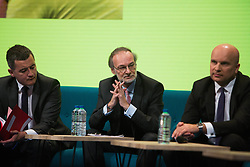 Pierre Nanterme at the GovTech Summit, at Paris city hall, on November 12, 2018.. Photo by Raphaël Lafargue/ABACAPRESS.COM