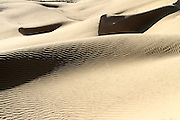 wind shaped Deset sand dune