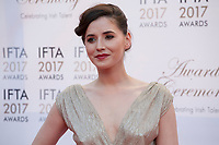 Actress Charlie Murphy at the 2017 IFTA Film & Drama Awards at the Round Room of the Mansion House, Dublin,  Ireland Saturday 8th April 2017.