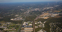 Aerial view of the University of Delaware area of Newark