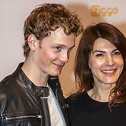 NLD/Amsterdam/20150302 - Uitreiking TV Beelden 2015, Martijn Lakemeijer en Kim van Kooten