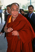 Tibetan spiritual leader the Dalai Lama during a visit April 24, 1997 in Washington, DC.