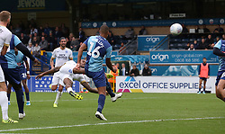 Ivan Toney of Peterborough United scores his sides third goal of the game - Mandatory by-line: Joe Dent/JMP - 05/10/2019 - FOOTBALL - Adam's Park - High Wycombe, England - Wycombe Wanderers v Peterborough United - Sky Bet League One