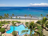View from the Hyatt Maui