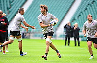 Juan Martin FERNANDEZ LOBBE - 01.05.2015 - Captains' Run de Toulon avant la finale - European Rugby Champions Cup -Twickenham -Londres<br /> Photo : David Winter / Icon Sport