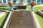 Graceland Mansion, Memphis, Tennessee is on the National Register of Historic Places. Elvis Presely's Grave