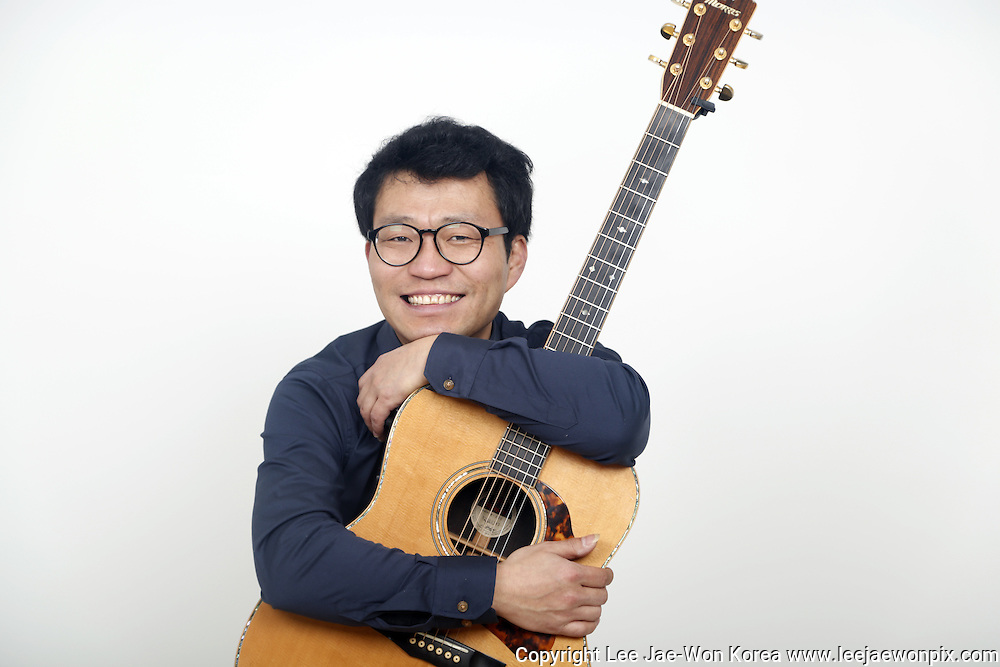 South Korean musician Lee Gwang-Seok in Seoul. / Lee Jae-Won