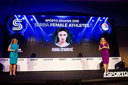 Ivana Spanovic at Sports Awards & Brands ceremony during Sports marketing and sponsorship conference Sporto 2018, on November 22, 2017 in Hotel Slovenija, Congress centre, Portoroz / Portorose, Slovenia. Photo by Vid Ponikvar / Sportida