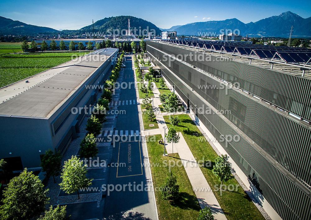 RC IKT, Tehnoloski park Kranj, building made by Armat d.o.o., on June 29, 2016 in Kranj, Slovenia. Photo by Vid Ponikvar / Sportida