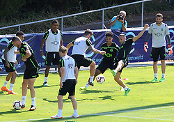 July 12, 2018 - Na - Nyon, 12/07/2018 - Sporting Clube de Portugal trained this morning during their pre-season training session in Switzerland at the Colovray Sports Center in Nyon. Jefferson  (Credit Image: © Atlantico Press via ZUMA Wire)