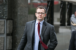 Andy Coulson arrives at court, The Old Bailey, London, United Kingdom. Thursday, 20th March 2014. Picture by Daniel Leal-Olivas / i-Images