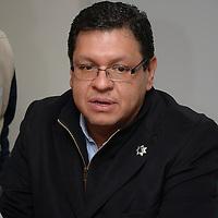 Toluca, México.- Carlos Nava Contreras, director de Seguridad Pública de Toluca, informo sobre la certificación de 30 servidores públicos municipales en temas de prevención del delito. Agencia MVT / Crisanta Espinosa