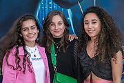 2019, June 17. Pathe ArenA, Amsterdam, the Netherlands. Sonia Eijken, Teske Hofman and Fleur Verwey at the dutch premiere of Men In Black International.