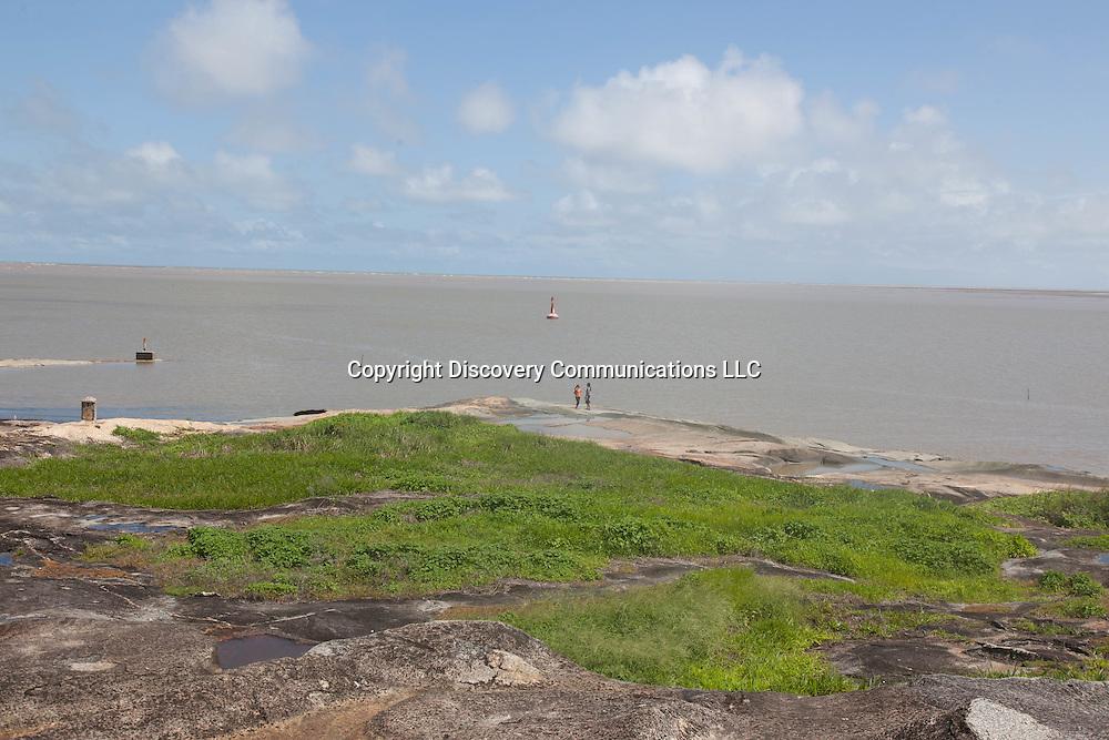 French Guyana, Kourou beach / kourou la plage.  Guyane.