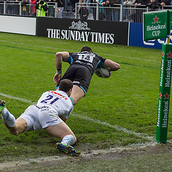 Glasgow Warriors v Exeter  Chiefs | Heineken Cup | 20 October 2013