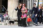 24.MARCH.2012. PARIS<br /> <br /> HILARY SWANK TAKES HER DOG OUT FOR A WALK AT THE PARC MONCEAU ALONG WITH A FRIEND. <br /> <br /> BYLINE: EDBIMAGEARCHIVE.COM<br /> <br /> *THIS IMAGE IS STRICTLY FOR UK NEWSPAPERS AND MAGAZINES ONLY*<br /> *FOR WORLD WIDE SALES AND WEB USE PLEASE CONTACT EDBIMAGEARCHIVE - 0208 954 5968*