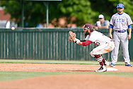 April 28, 2016: The Lubbock Christian University Chaparrals play against the Oklahoma Christian University Eagles at Dobson Field on the campus of Oklahoma Christian University.