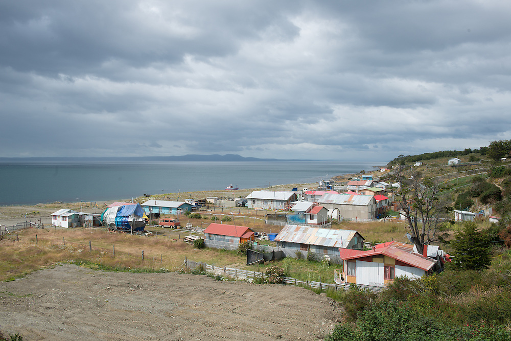 Small Fishing town,  Punta Arenas Chile