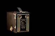 Kodak Brownie camera photographed at Lindstrom Studios.