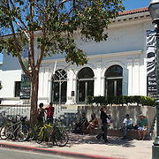 Museum of art on State street.Santa Barbara,CA.