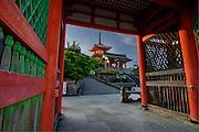 Kiyomiuz-dera, Kyoto, Japan.
