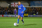 AFC Wimbledon defender Terell Thomas (6) \d during the EFL Sky Bet League 1 match between AFC Wimbledon and Peterborough United at the Cherry Red Records Stadium, Kingston, England on 12 March 2019.