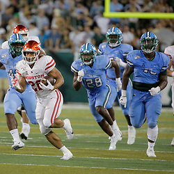 Sep 19, 2019; New Orleans, LA, USA; Houston Cougars running back Kyle Porter (22) runs against the Tulane Green Wave during the first half at Yulman Stadium. Mandatory Credit: Derick E. Hingle-USA TODAY Sports