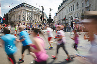 The British 10k run through central London sponsored by Virgin Active