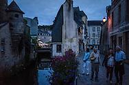 The Festival de Cornouaille on Saturday, July 23, 2016 in Quimper, France.