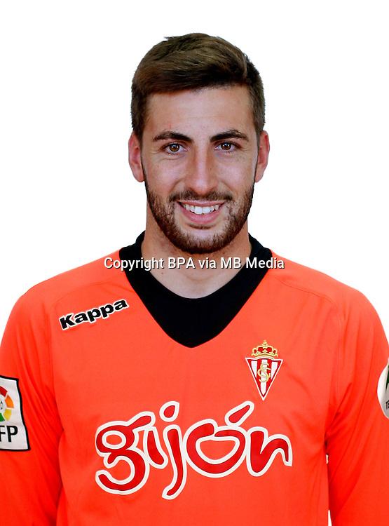 Spain - La Liga Adelante 2014-2015 / <br /> ( Real Sporting de Gijon ) - <br /> Dennis Diaz Fernandez
