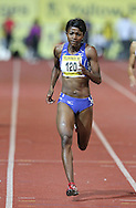 PRETORIA, SOUTH AFRICA, Friday 20 April 2012, Tjipekapora Herunga of Namibia wins the women's 400m during the Yellow Pages Series 3 held at the Absa Tuks stadium..Photo by Roger Sedres/ImageSA/ASA