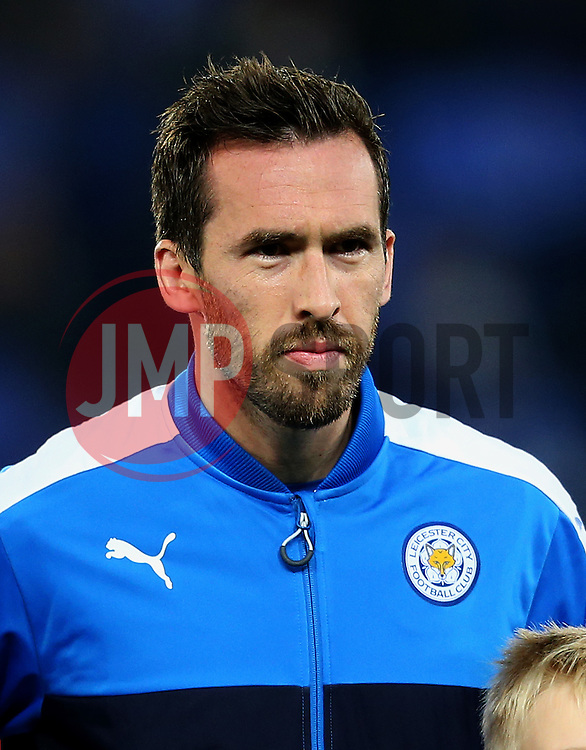 Christian Fuchs of Leicester City  - Mandatory by-line: Matt McNulty/JMP - 22/11/2016 - FOOTBALL - King Power Stadium - Leicester, England - Leicester City v Club Brugge - UEFA Champions League