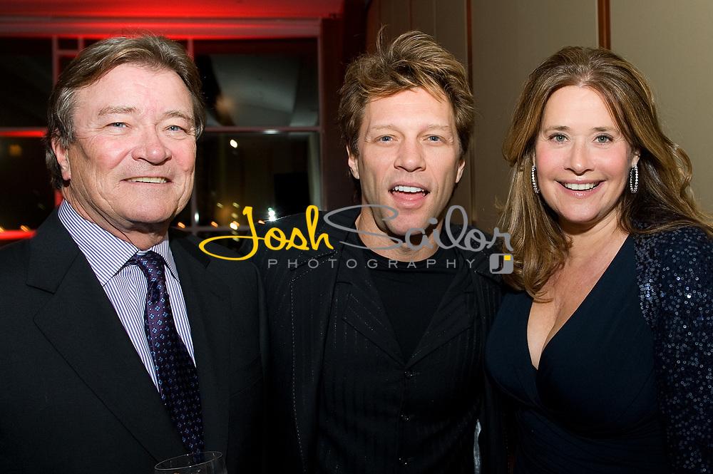 Steve Kroft, Bon Jovi & Lorraine Bracco
