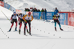 Benedikt Doll (GER) finishing the Mass Start Men 15 km at day 4 of IBU Biathlon World Cup 2019/20 Pokljuka, on January 23, 2020 in Rudno polje, Pokljuka, Pokljuka, Slovenia. Photo by Peter Podobnik / Sportida