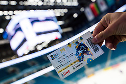The ticket prior to ice hockey match between South Korea and Slovenia at IIHF World Championship DIV. I Group A Kazakhstan 2019, on April 30, 2019 in Barys Arena, Nur-Sultan, Kazakhstan. Photo by Matic Klansek Velej / Sportida