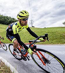 11.07.2019, Kitzbühel, AUT, Ö-Tour, Österreich Radrundfahrt, 5. Etappe, von Bruck an der Glocknerstraße nach Kitzbühel (161,9 km), im Bild Giovanni Visconti (ITA, Neri Sottoli - Selle Italia - KTM) // Giovanni Visconti of Italy (Neri Sottoli - Selle Italia - KTM) during 5th stage from Bruck an der Glocknerstraße to Kitzbühel (161,9 km) of the 2019 Tour of Austria. Kitzbühel, Austria on 2019/07/11. EXPA Pictures © 2019, PhotoCredit: EXPA/ Reinhard Eisenbauer