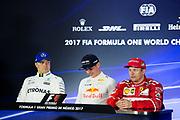 October 27-29, 2017: Mexican Grand Prix. Kimi Raikkonen (FIN), Scuderia Ferrari, SF70H , Max Verstappen (DEU), Red Bull Racing, RB13