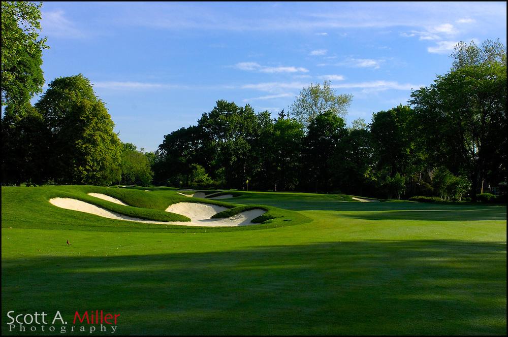 Columbus, Ohio.; May 24, 2006 - 7th hole at Scioto Country Club Columbus, Ohio...                ©2006 Scott A. Miller