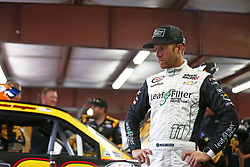 July 14, 2017 - Loudon, NH, United States of America - July 14, 2017 - Loudon, NH, USA: Blake Koch (11) hangs out in the garage during practice for the Overton's 200 at New Hampshire Motor Speedway in Loudon, NH. (Credit Image: © Justin R. Noe Asp Inc/ASP via ZUMA Wire)